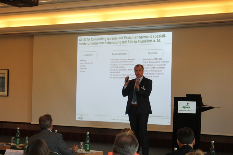 Keynote Speech auf dem 7. Internationalen Golffachkongress in Salzburg
