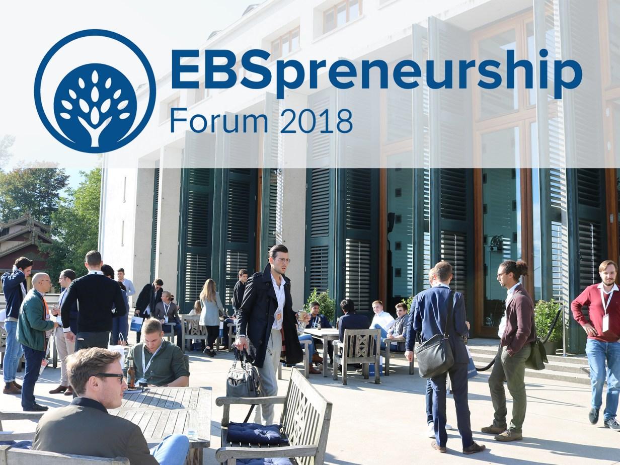 Dr. Friesen hält Pricing-Vortrag auf dem 10. EBSpreneurship Forum 2018