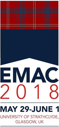 """Dr. Friesen wurde als einer von zwei """"Track Chairs"""" für Pricing auf der European Marketing Academy Conference (EMAC) 2018 berufen."""