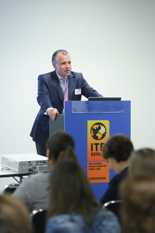 Herr Dr. Friesen auf dem ITB Kongress in Berlin